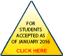 For students accepted as of January 2016